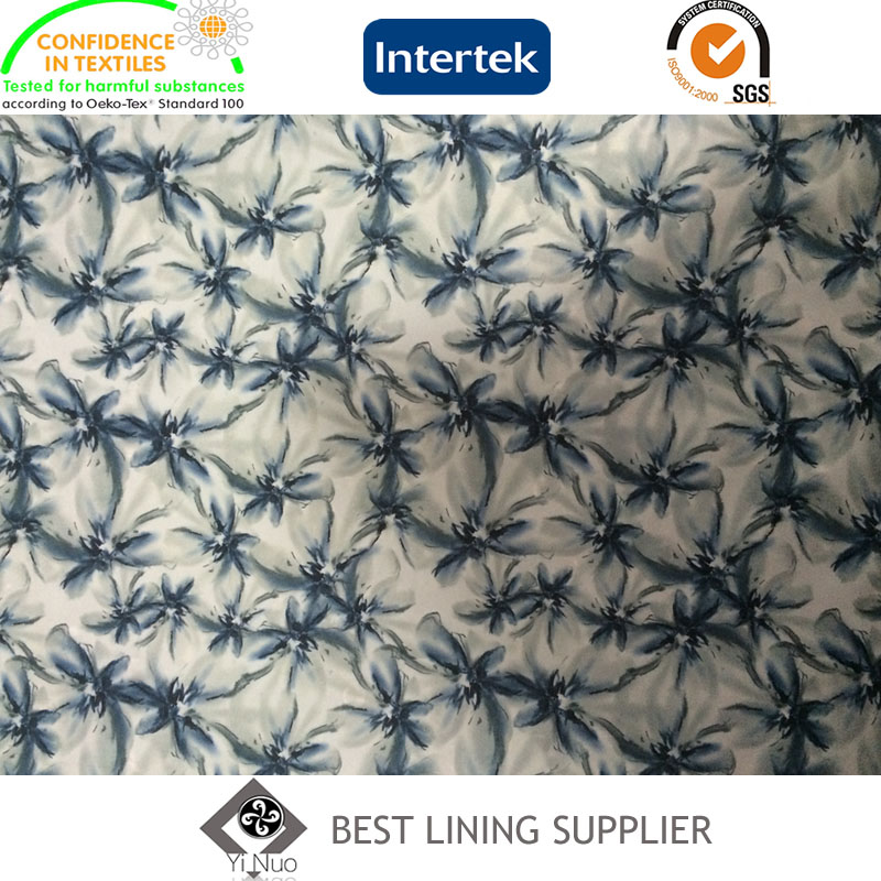 New and Soft Mens Suit Jacket Coat Lining Fabric Print Lining Supplier