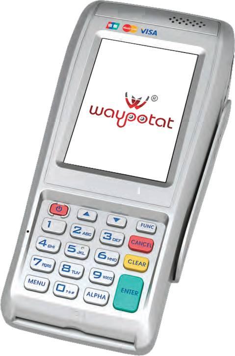 Handheld POS terminal with Fingerprint and Dual SIM