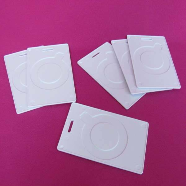 Plastic door proximity ID card