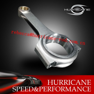 Ford 4.6L/5.0L Forged H-Beam Connecting Rods with 22.01mm Pin