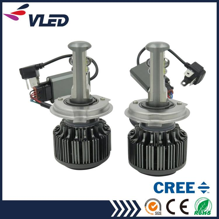 V16 CREE LED Headlight Conversion Kit H4 40W 4800lm Car Light