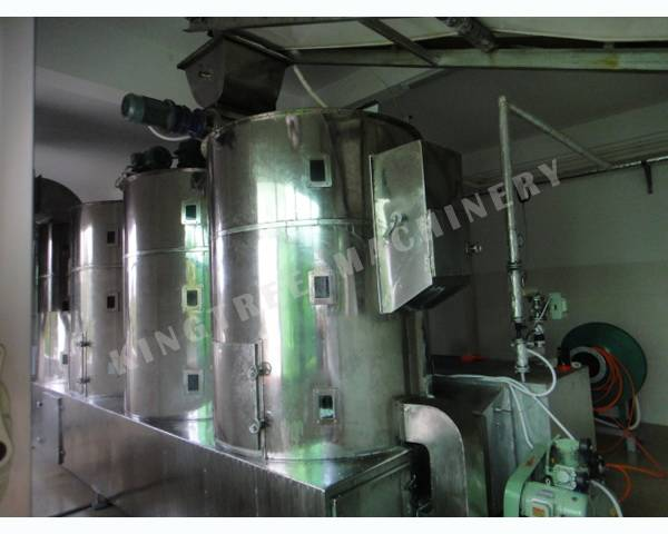 Defatted Desiccated Coconut  Drying Machine
