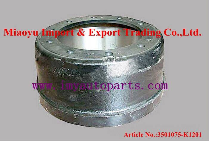 Dongfeng Kinland Front brake drum 3501075-K1201