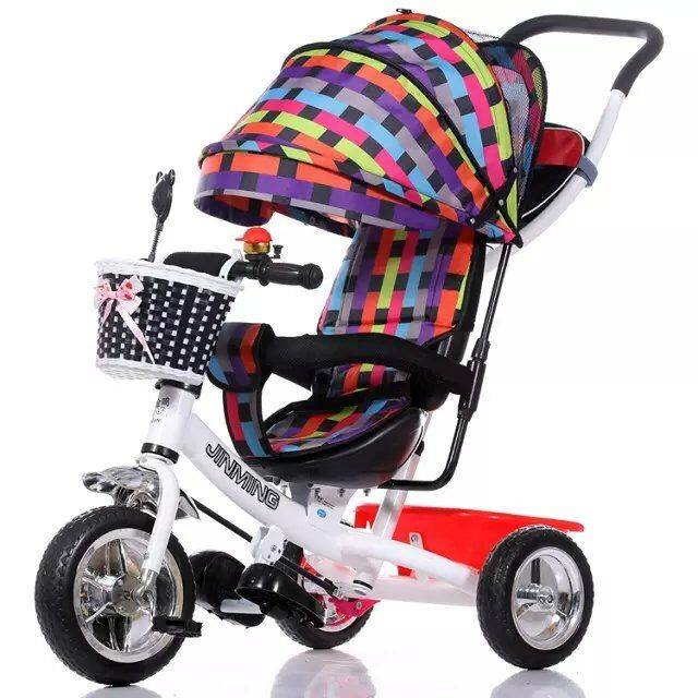QJ-524 4 in 1 tricycle for 2 to 5 years old /3 wheels ride on / Qiangjiu Bicycle Group