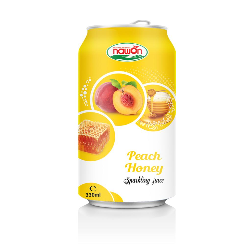 Good for health Sparkling Juice Peach Honey