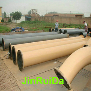 Seamless Steel Rubber Lined Tube Pipeline