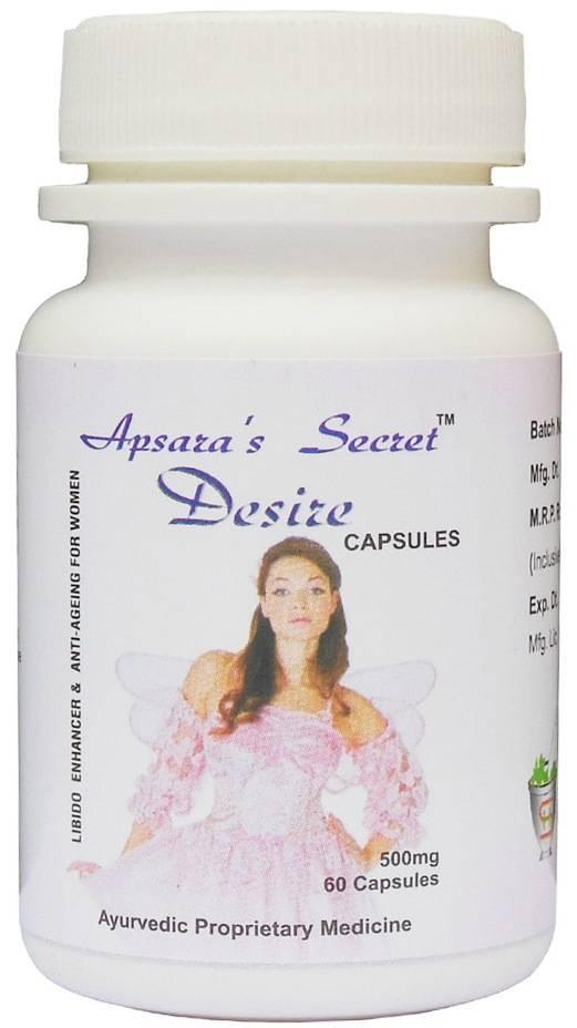 Apsara's Secret Desire Caps.-Libido & Anti-Aging  For Women