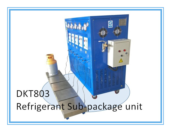Dkt80-3 3HP Refrigerant Sub-Package Machine