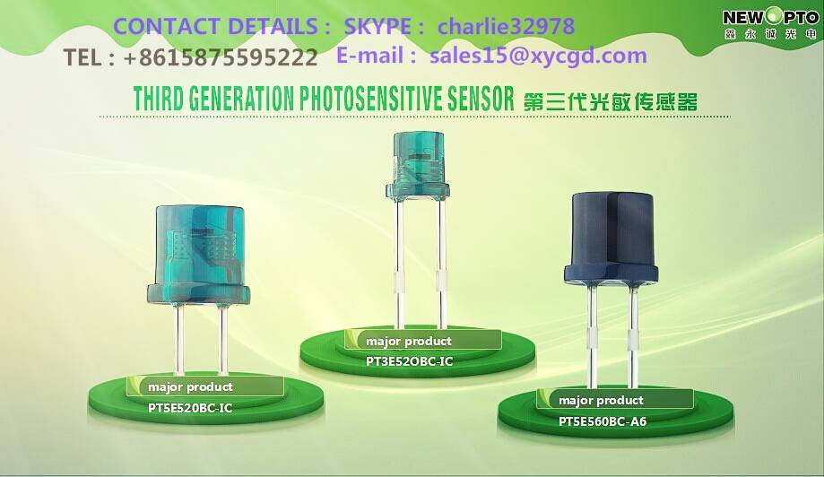 Everylight alternatives----------Best light sensor(SGS & ROHS)-----NEW OPTO