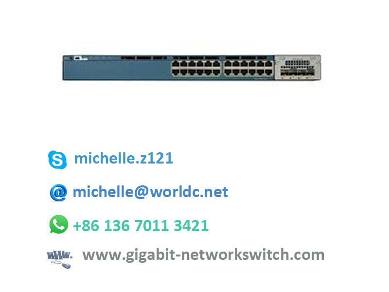 Brand new cisco 24 port 10/100 ethernet hub switch WS-C2960+24TC-S