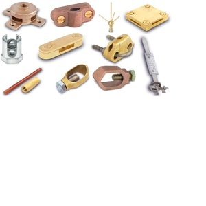 Brass Earthing Rods Plates And Accessories