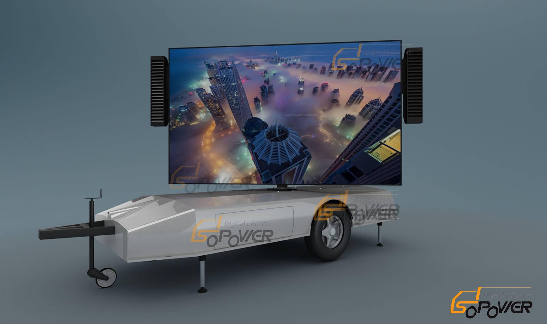 SoPower Digital LED Trailer iTrailer 6