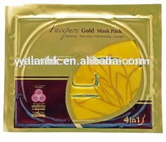 24k Q10 Nano Gold Facial Mask for Anti-Wrinkle