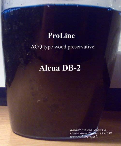 ACQ type wood preservative