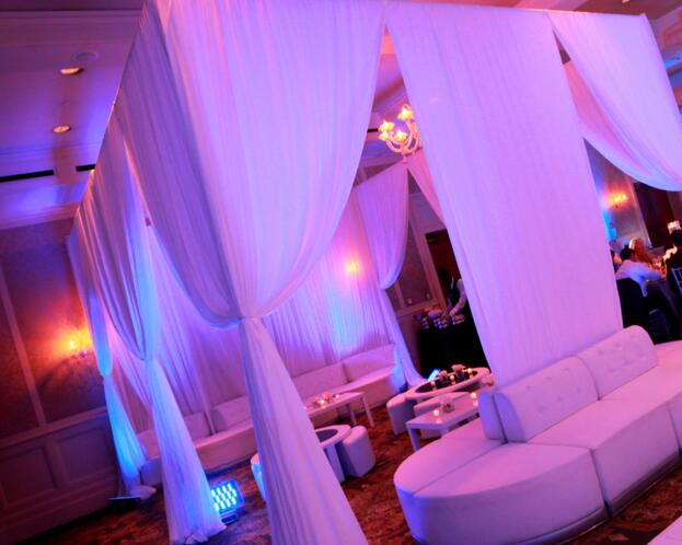 wedding pipe and drape for sales