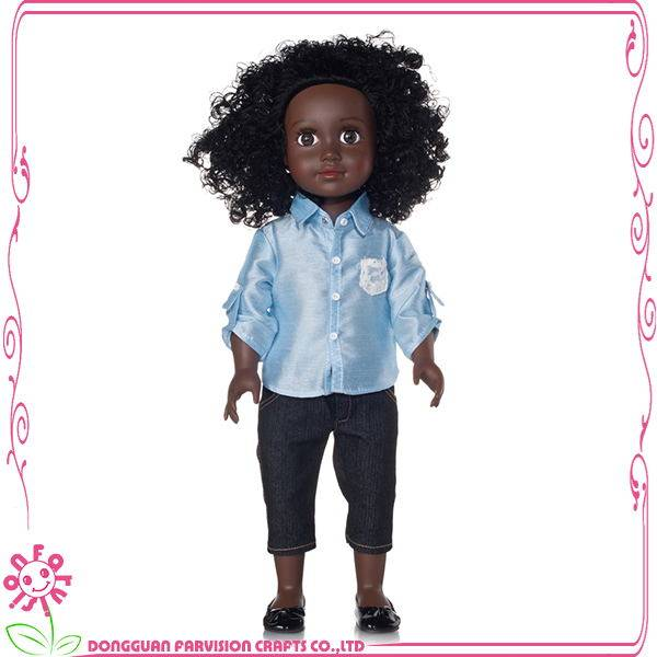 Black Dolls made in China,kids dolls,synthetic dolls