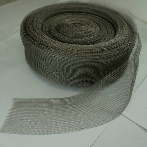 single layer knitted wire mesh tapes
