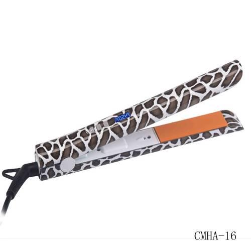 Professional leopard Print Hair Flat Iron