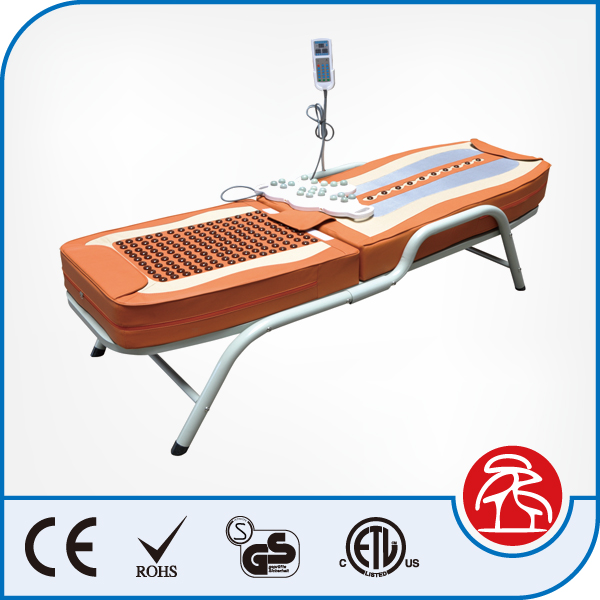 Therapeutic Tourmaline Jade Stone Massage Bed With Heating Function
