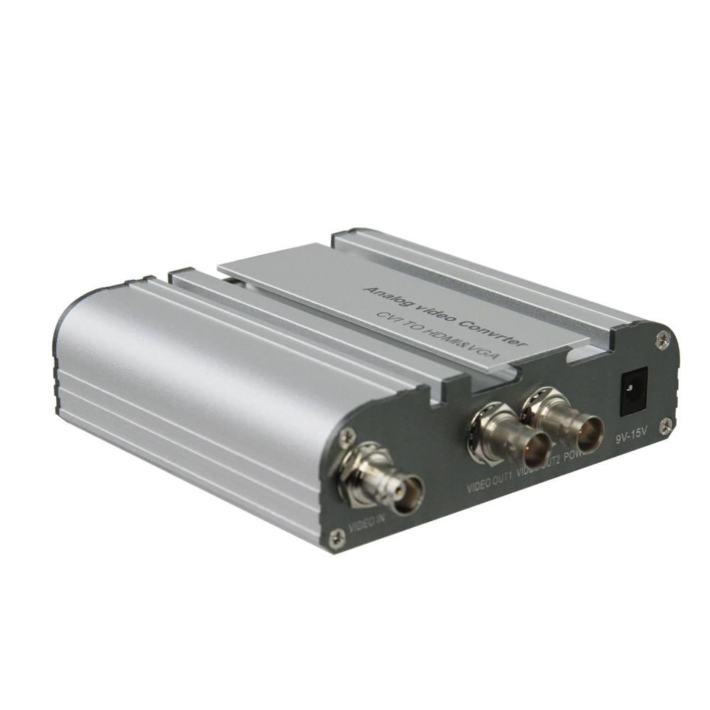 TVI to VGA&HDMI Converter