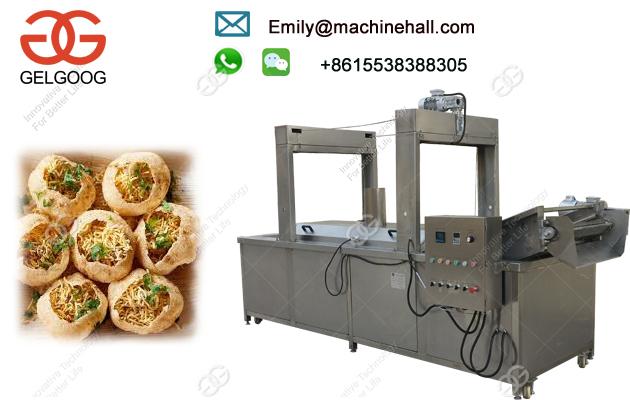 Automatic Pani Puri Frying Machine/Continuous Pani Puri Frying Machine