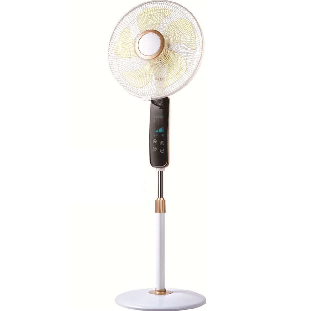 stand fan in floor with remote control