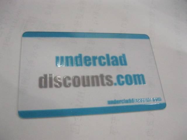 Clear Card  Printing