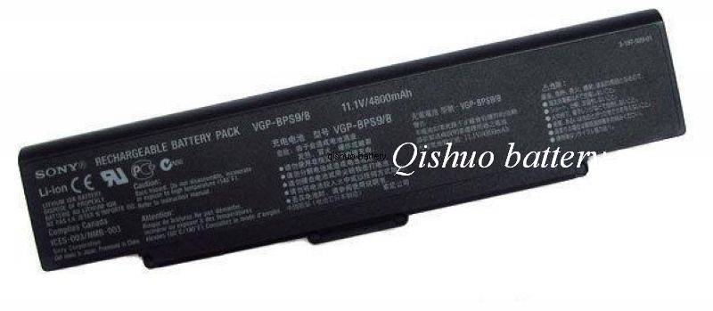 Laptop Battery for Sony Bps9 Battery