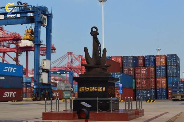 Chinese mainland to Kazakhstan international railway transportation