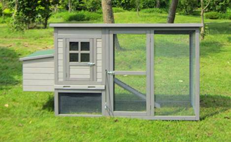 Wooden Chicken Coop (CKH006)