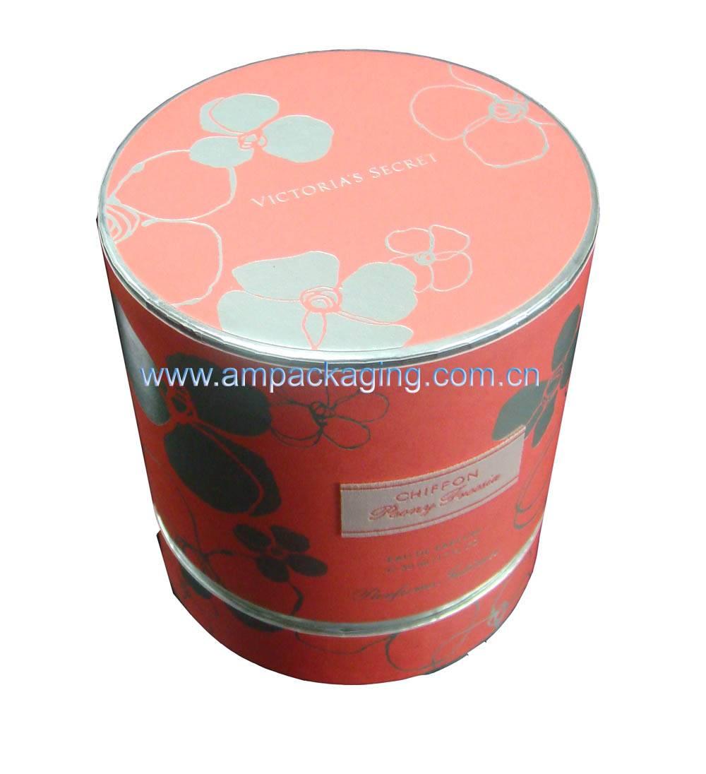Elegant Round Cardboard Box For Cosmetics - Dongguan AM