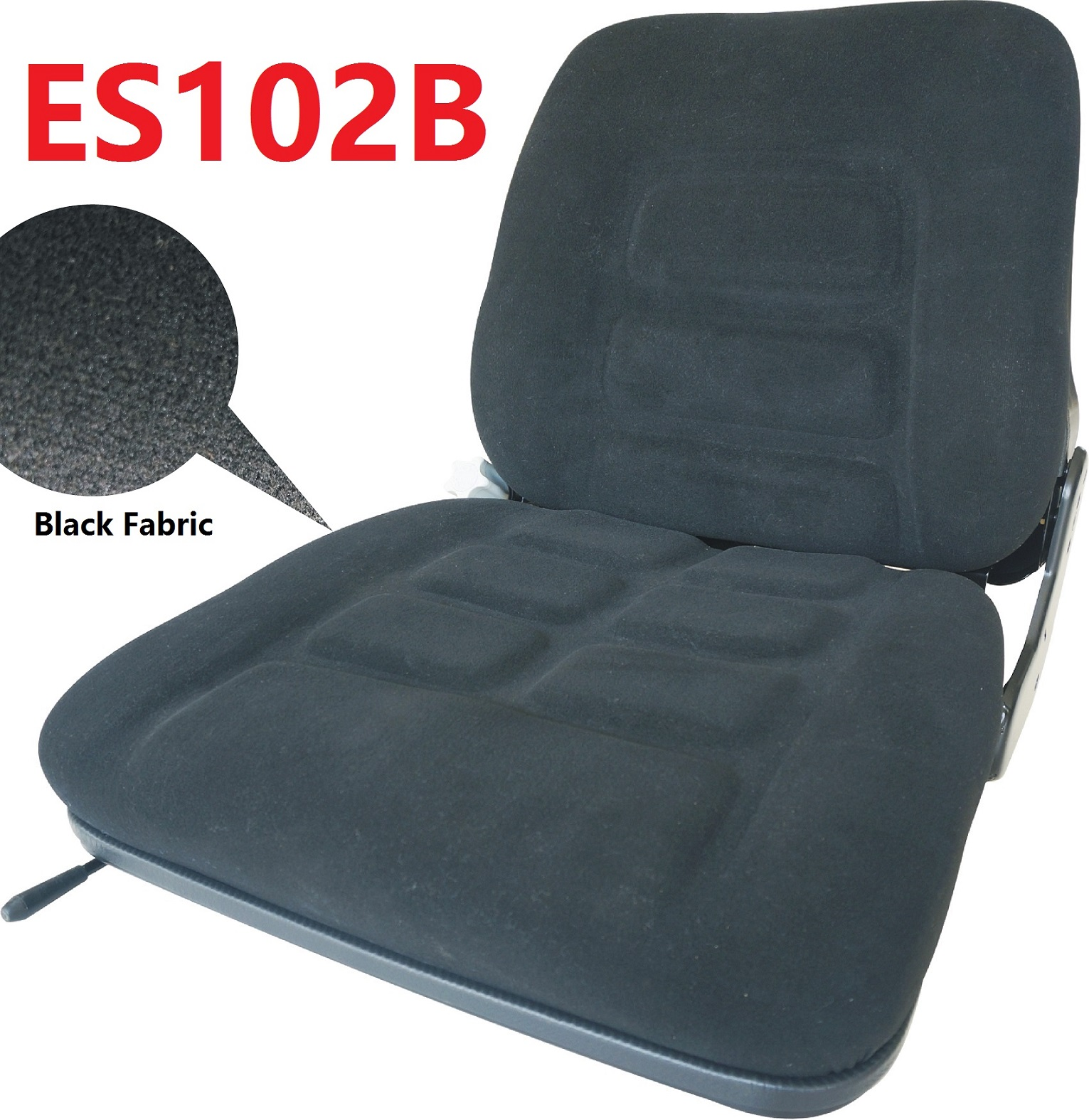 Universal Replacement Suspension Seat ES102B Construction Sweeper Agricultral Tractor Forklift Seat