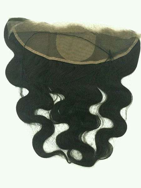 Virgin Remy Cuticle Brazilian Lace Frontal with silk base 44 inch