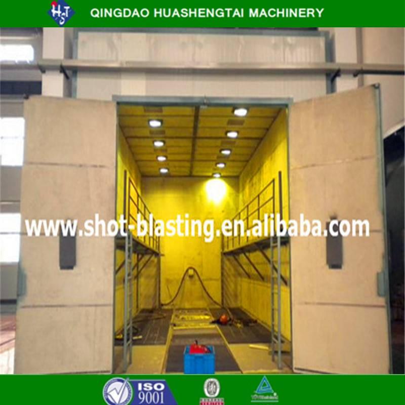 HOT auto sand blasting room equipment/sand blasting machines