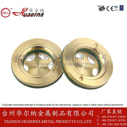 brass oil level indicator tempered glass compressor parts