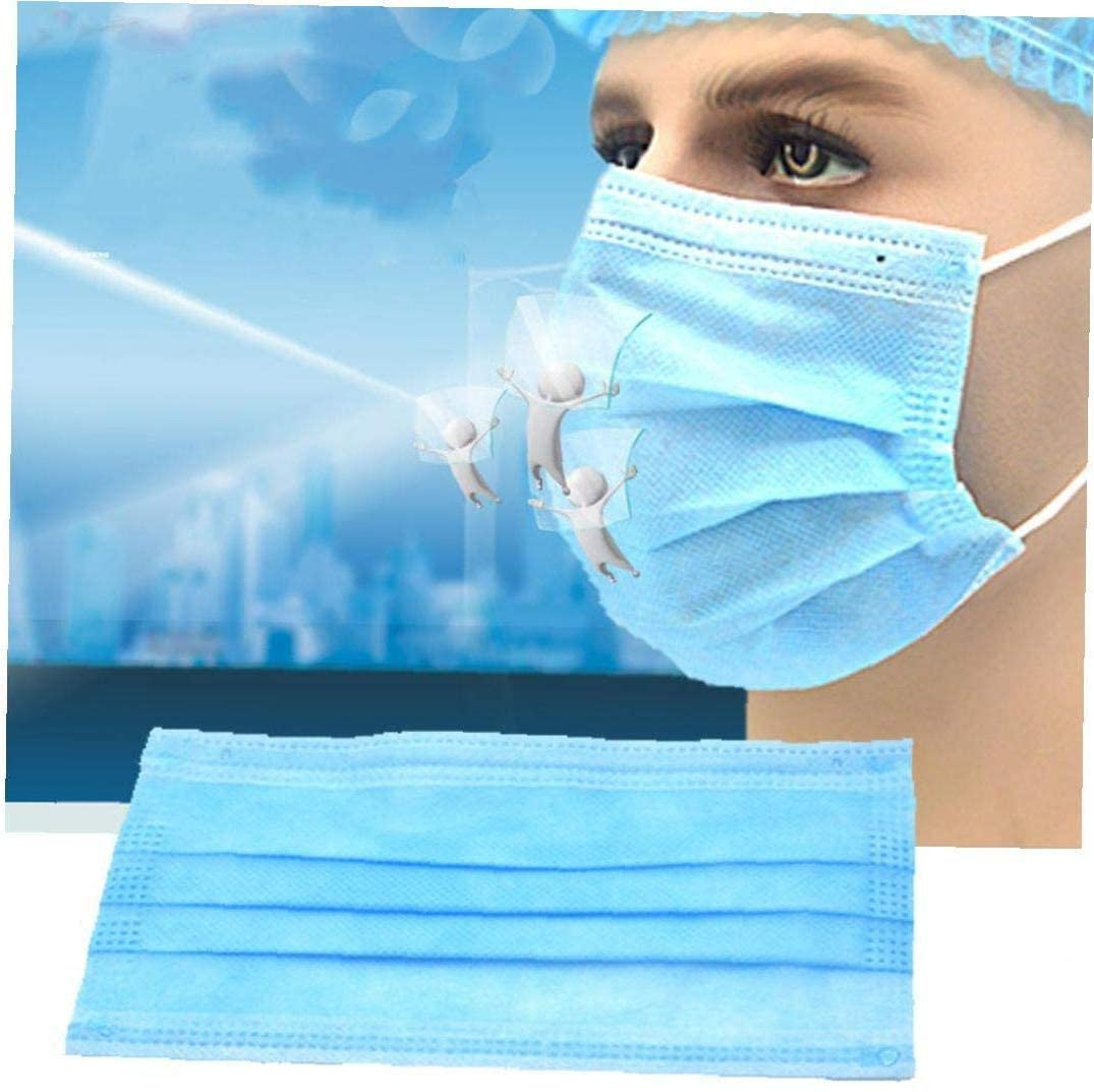 Disposable medical surgical mask meltblown cloth sterile protective mask three layers