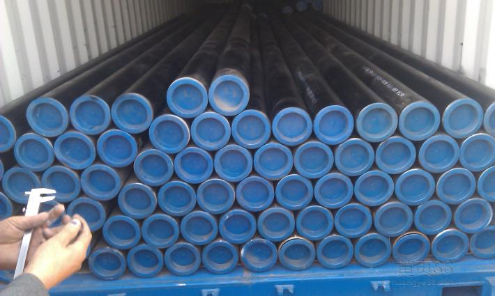 ASTM A53/API5L ERW Steel pipes for structure