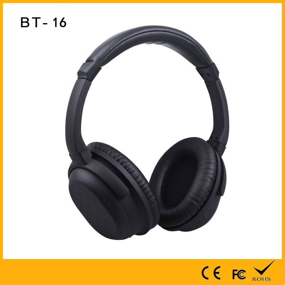 High Grade Quality Assurance Professional Stereo headphones with Wireless Bluetooth 80 percent Noise