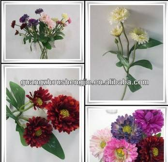 2014 real touch PU chrysanthemum / Artificial flowers