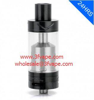 AUTHENTIC YOUDE UD EZ RTA REBUILDABLE TANK ATOMIZER - BLACK, STAINLESS STEEL, 4ML, 22MM DIAMETER