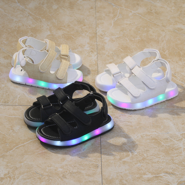 2017 Glory fashion led light up kids shoes baby shoes led