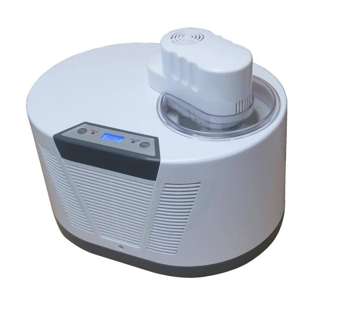 Self Cooling Soft Ice Cream Maker with Built in Compressor KIC8088