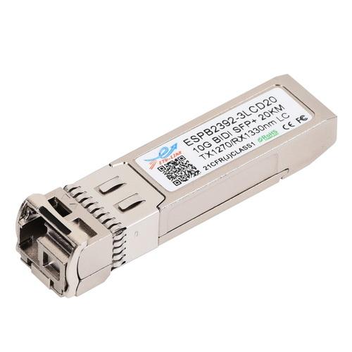 10G SM 20KM BiDi SFP+ Transceiver