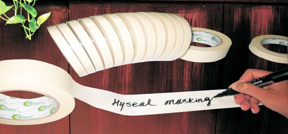 Adhesive Masking Tape Crept Paper Tape