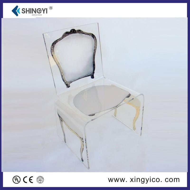 plexiglass game chair