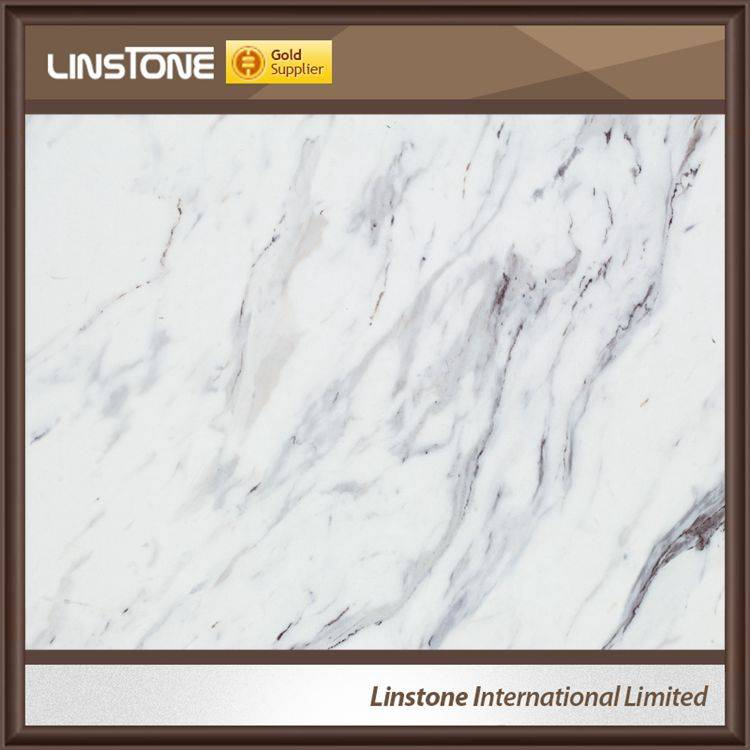 Hot Sale Polished Calatata White Marble Flooring Tiles Price