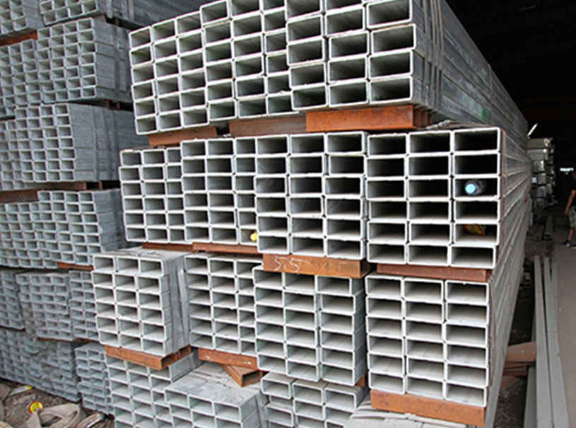 Rectangular Galvanized Steel Pipe MS Rectangular Pipe Manufacturer