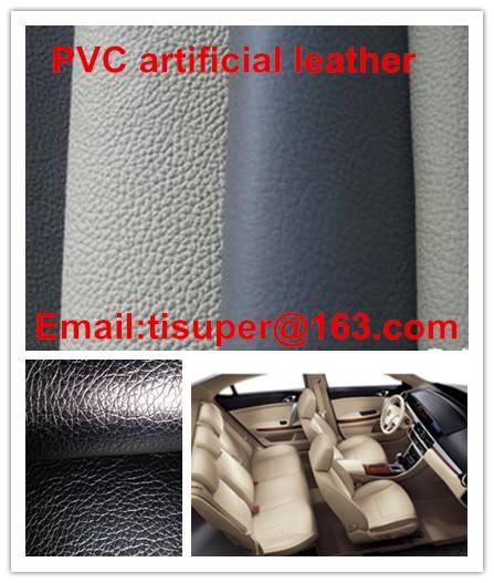 PVC artificial leather for car upholstery