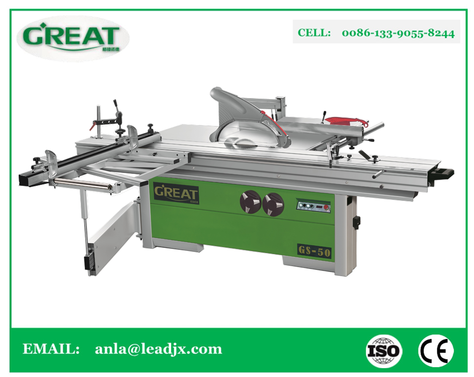 GS-50 3200mm Sliding Table Saw with high precision panel saw machinery