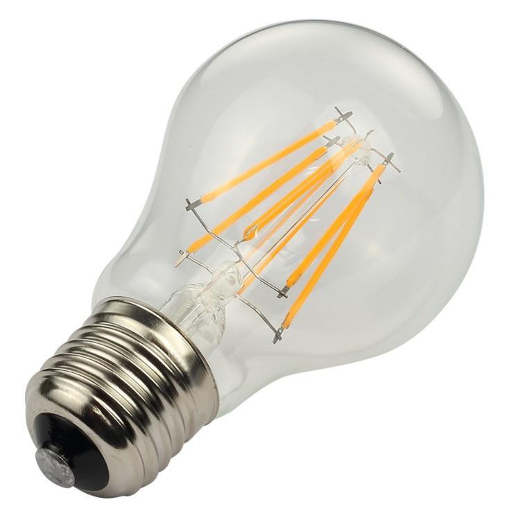 LED filament bulb A60 6W/8W